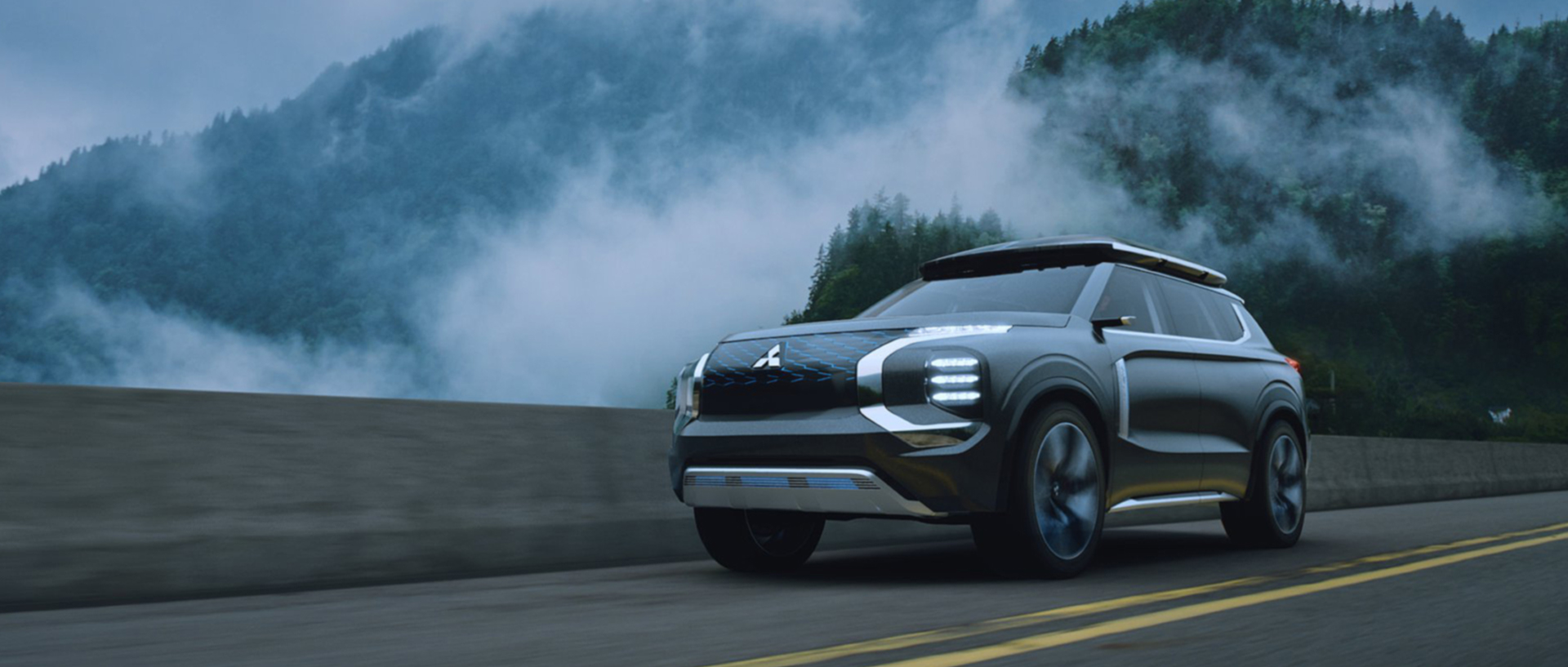 Mitsubishi –– eYi Concept